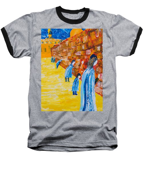 Western Wall Baseball T-Shirt