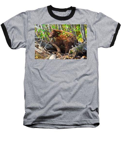 Where The Wild Things Are Baseball T-Shirt by Scott Warner