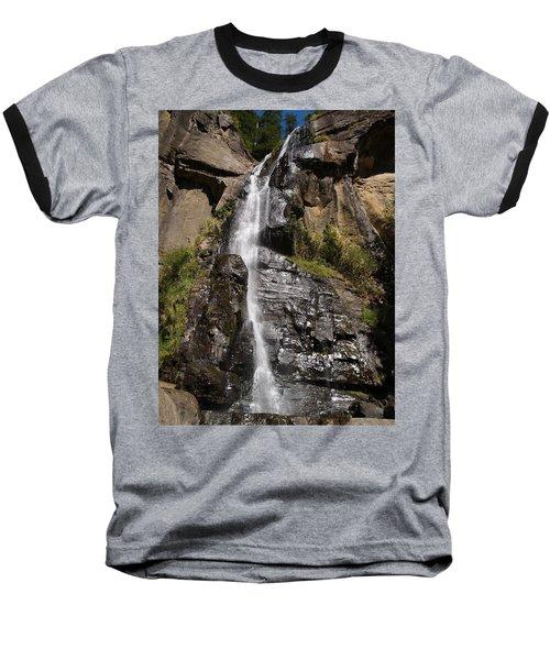 Wide Angle Shot Baseball T-Shirt