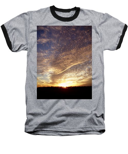 Baseball T-Shirt featuring the photograph Wild Sky 2 by Cynthia Lassiter