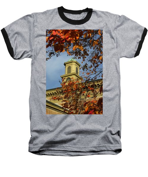 Baseball T-Shirt featuring the photograph William And Mary College by Jacqueline M Lewis