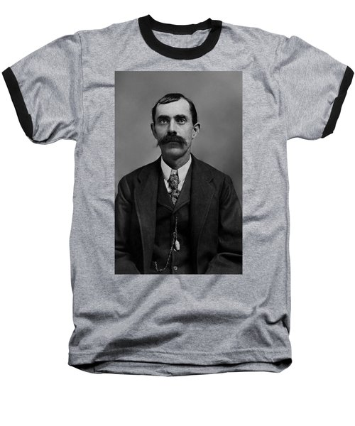 Baseball T-Shirt featuring the photograph William Calvin Palmer by Karon Melillo DeVega
