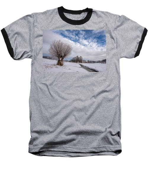 Baseball T-Shirt featuring the photograph Willow by Davorin Mance