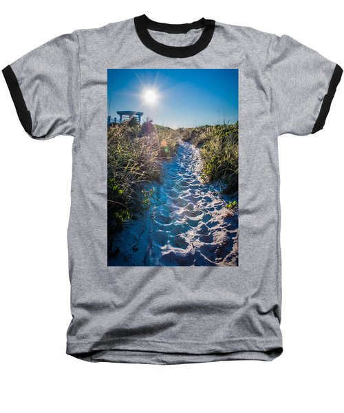 Baseball T-Shirt featuring the photograph Wilmington Coastal Scene Wilmington North Carolina by Alex Grichenko