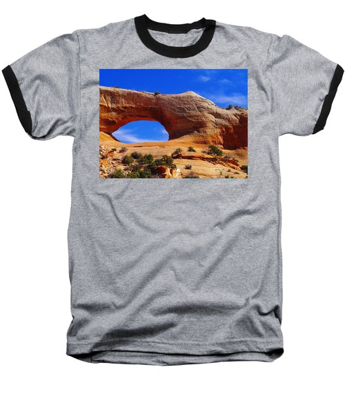 Wilsons Arch Baseball T-Shirt by Jeff Swan