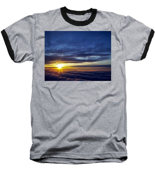 Baseball T-Shirt featuring the photograph Winter Dawn Over New England by Greg Reed
