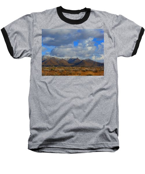 Winter In Golden Valley Baseball T-Shirt