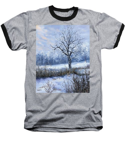 Winter Slumber Baseball T-Shirt