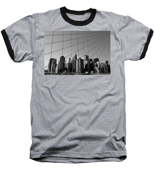 Wired City Baseball T-Shirt