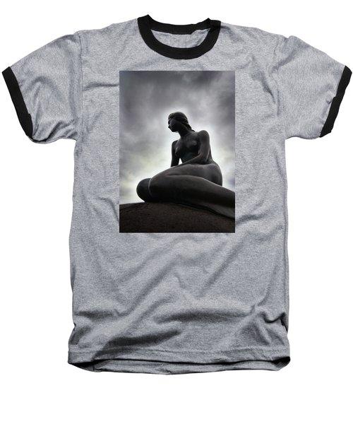 Woman Standing Strong Baseball T-Shirt