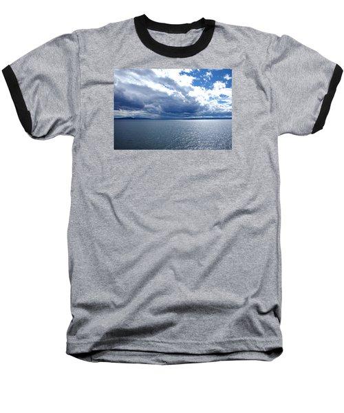 Yellowstone Lake Baseball T-Shirt