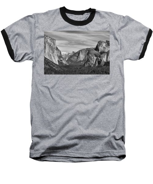 Yosemite Baseball T-Shirt by David Gleeson