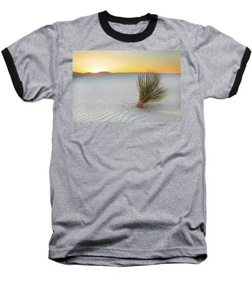 Yucca Plant At White Sands Baseball T-Shirt