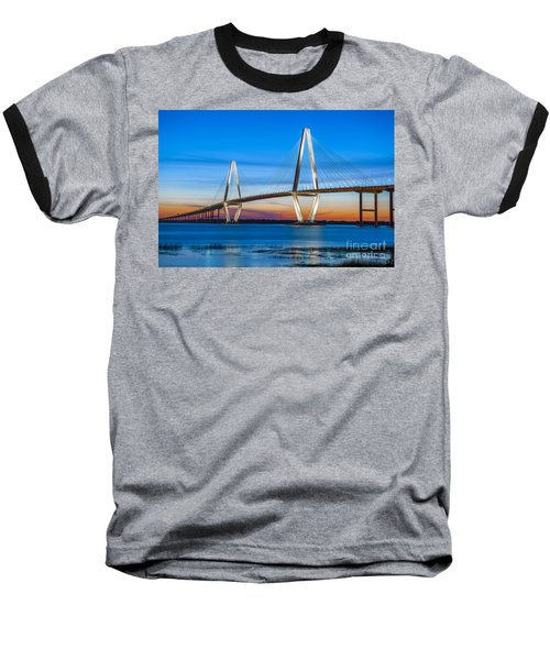 Charleston Arthur Ravenel Bridge Baseball T-Shirt