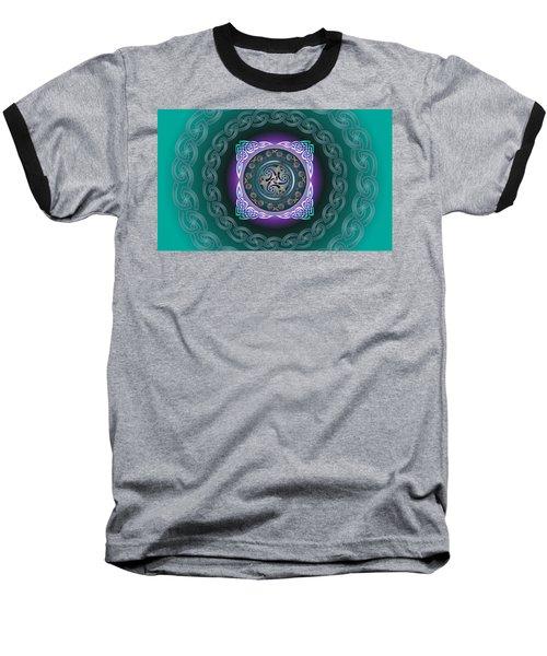 Celtic Pattern Baseball T-Shirt