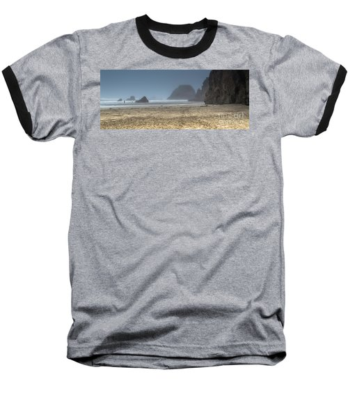 10 Mile Beach Baseball T-Shirt
