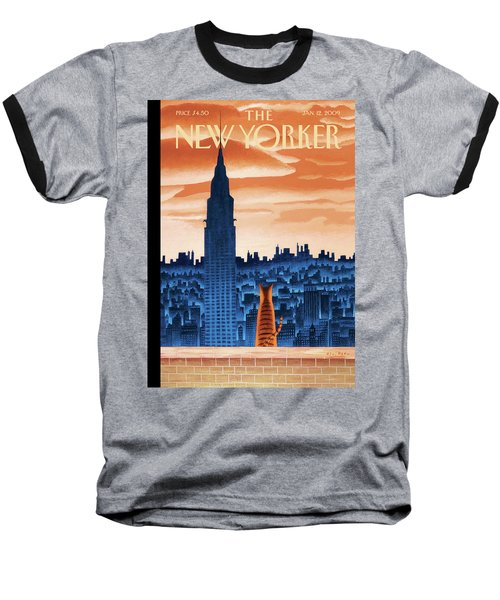New Yorker January 12th, 2009 Baseball T-Shirt