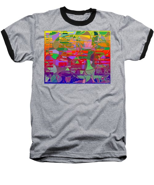 1021 Abstract Thought Baseball T-Shirt