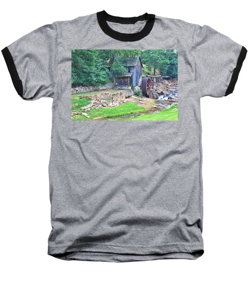 Sixes Mill On Dukes Creek Baseball T-Shirt