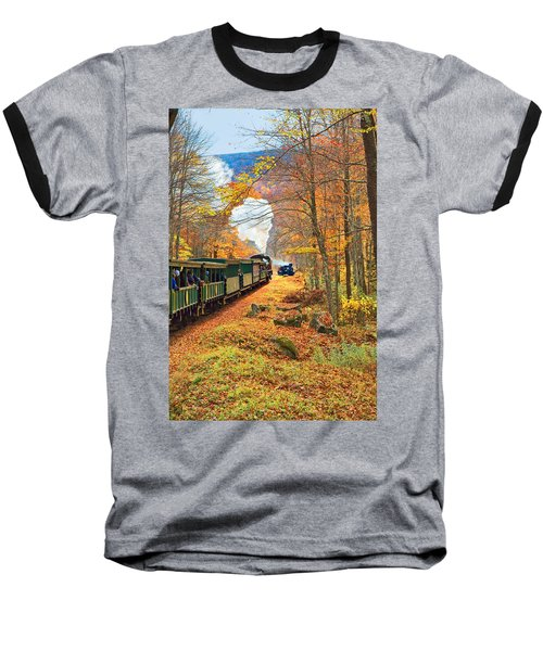 Cass Scenic Railroad Baseball T-Shirt