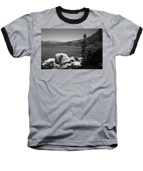 Lake Tahoe Baseball T-Shirt by Frank Romeo
