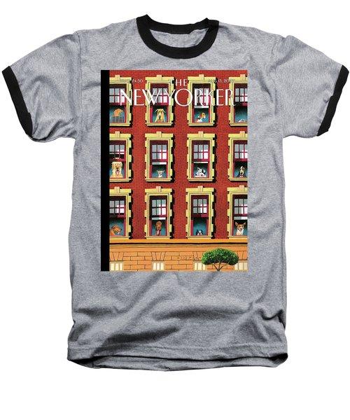 Hot Dogs Baseball T-Shirt