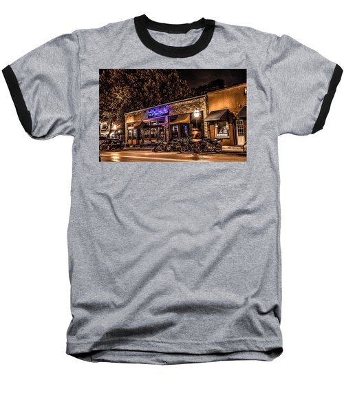 Baseball T-Shirt featuring the photograph 11th St. Precinct by Ray Congrove