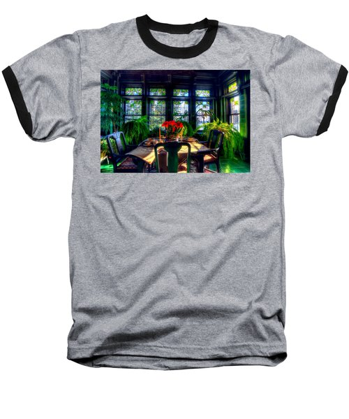 Glensheen Mansion Duluth Baseball T-Shirt by Amanda Stadther
