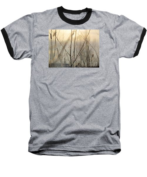 Baseball T-Shirt featuring the photograph Wildflowers Winter by France Laliberte