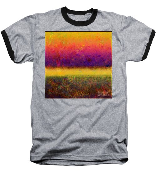 1395 Abstract Thought Baseball T-Shirt