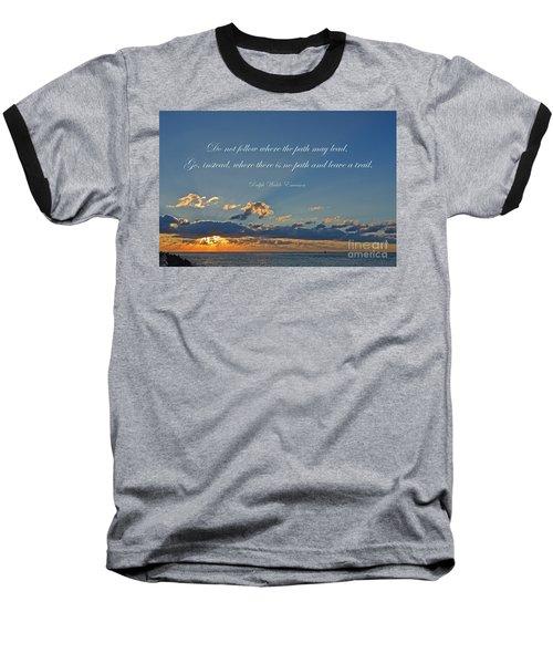 149- Ralph Waldo Emerson Baseball T-Shirt