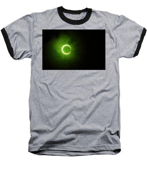 15 January 2010 Solar Eclipse Maldives Baseball T-Shirt