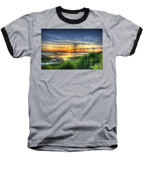 Lowcountry Sunset Baseball T-Shirt