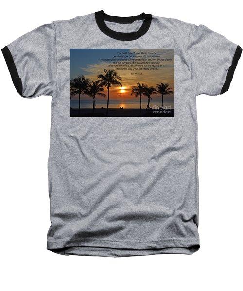 154- Bob Moawad Baseball T-Shirt by Joseph Keane