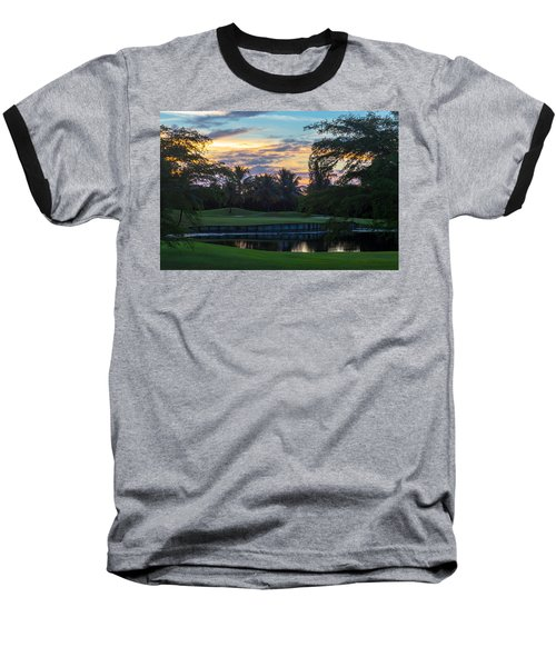 15th Green At Hollybrook Baseball T-Shirt