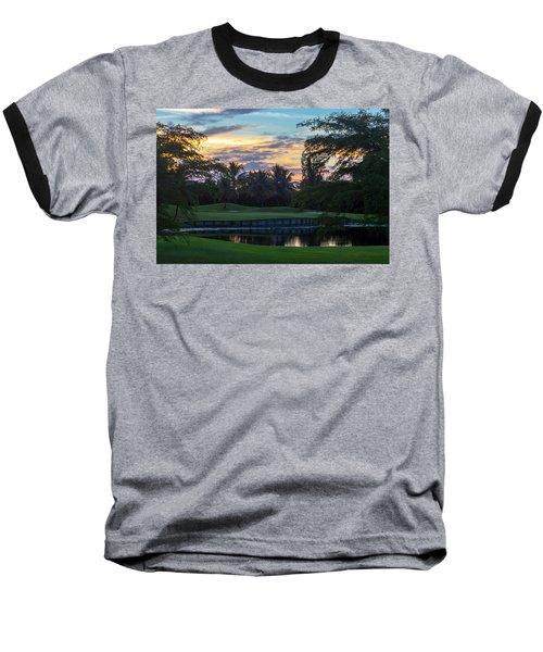 15th Green At Hollybrook Baseball T-Shirt