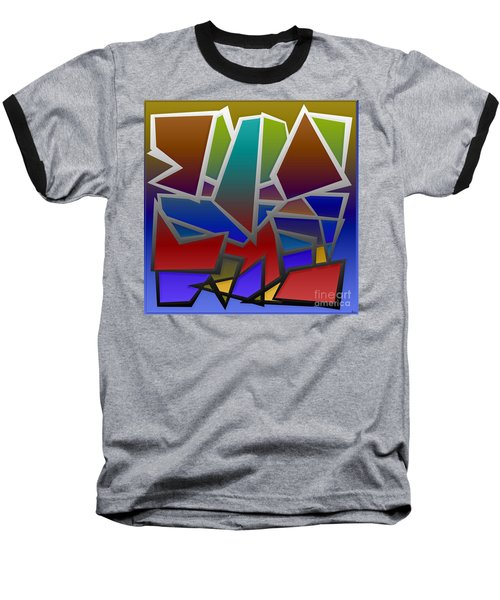 1624 Abstract Thought Baseball T-Shirt