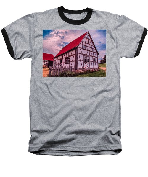 1700s German Farm Baseball T-Shirt