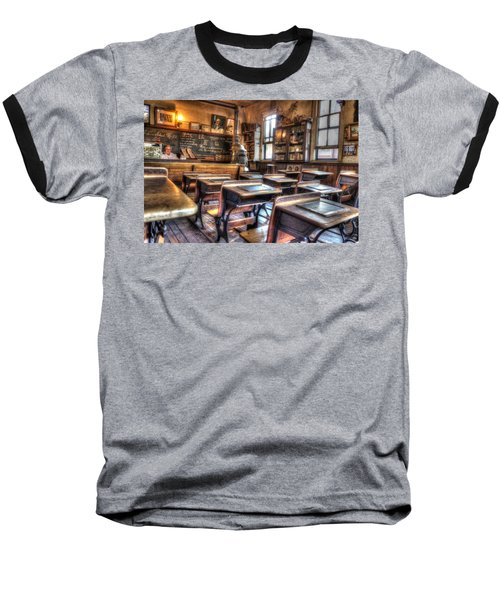 Baseball T-Shirt featuring the photograph 1879 School House - Knott's Berry Farm by Heidi Smith