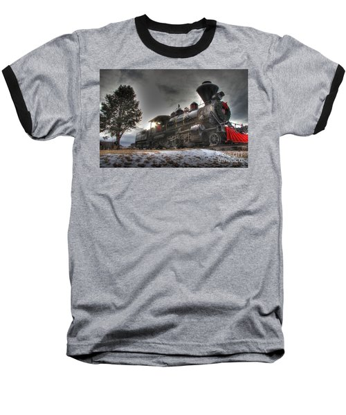 Baseball T-Shirt featuring the photograph 1880 Train by Bill Gabbert