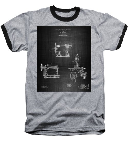 1885 Singer Sewing Machine Baseball T-Shirt