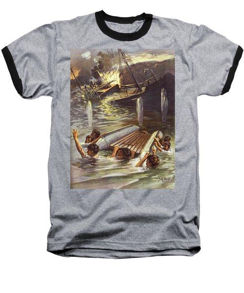 1890s Spanish American War June 1898 Baseball T-Shirt