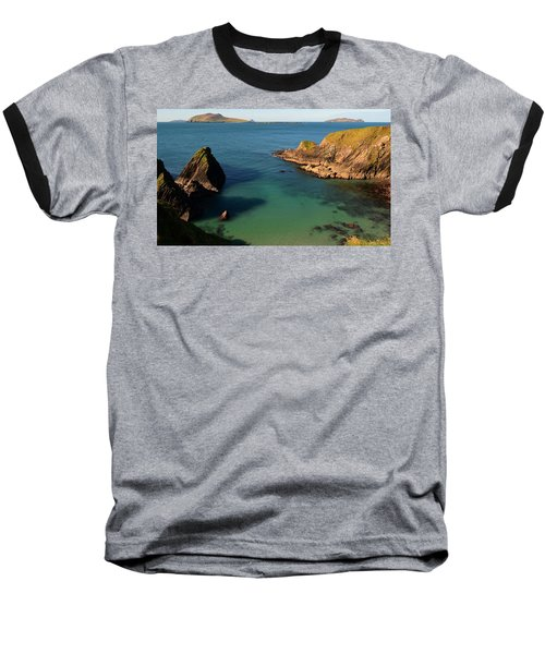 Baseball T-Shirt featuring the photograph Blasket Islands by Barbara Walsh