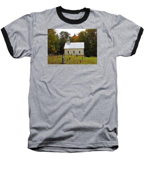 Cade's Cove 1902 Methodist Church Baseball T-Shirt