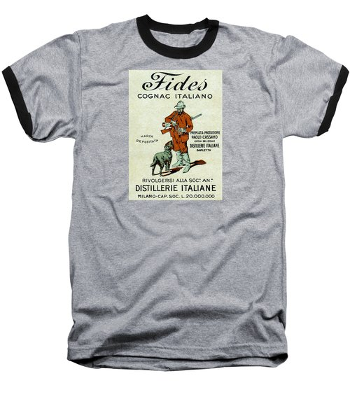 1905 Fides Italian Cognac Baseball T-Shirt