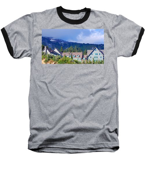 1916 Paradise Inn. Mount Rainier National Park Baseball T-Shirt