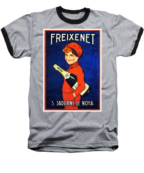 1920 - Freixenet Wines - Advertisement Poster - Color Baseball T-Shirt