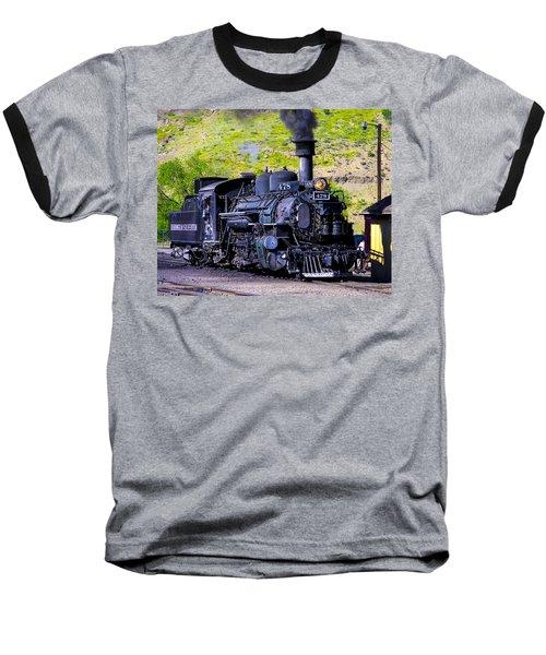 1923 Vintage  Railroad Train Locomotive  Baseball T-Shirt
