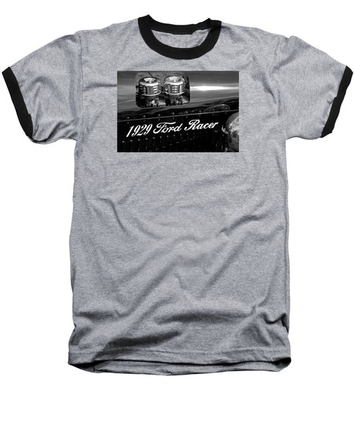 1929 Ford Racer Baseball T-Shirt by Janice Adomeit