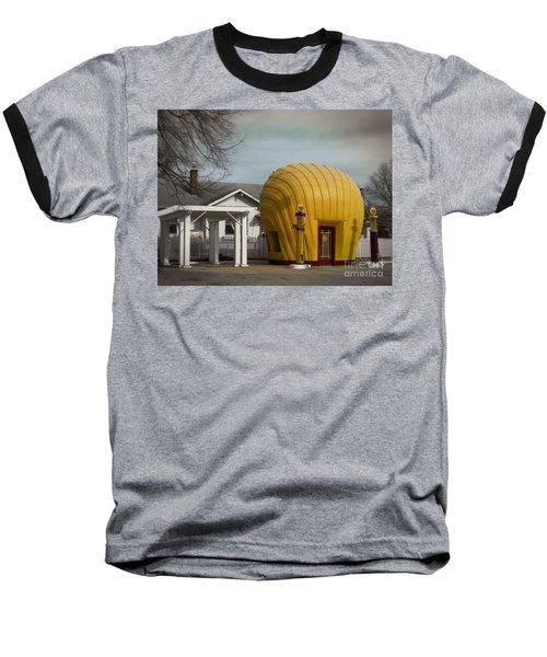 1930 Shell Station Baseball T-Shirt